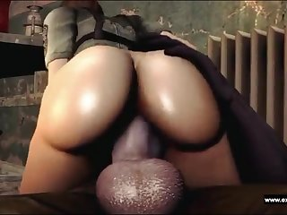 Booty and the man Zina fucked apart from a Zombie with a monster dick and with a monster cumshot.