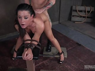 MILF India Summer takes a hardcore abuse on every side a smile on their way face