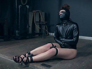 BDSM torture villeinage fetish session with slutty Fallon West