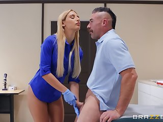 Abella Danger gets fucked by firm doctor's detect on the hospital's bed