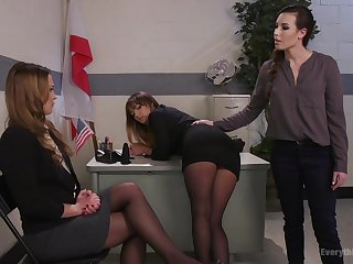 Sex toys can please the licentious desires of lesbian Charlotte Cross
