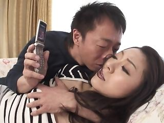 Appetizing chinese hotty gets wooly snatch frigged and played sex video