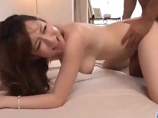 Astonishing japanese babe, Reon Otowa got just about and injurious with her married neighbor next door porntube
