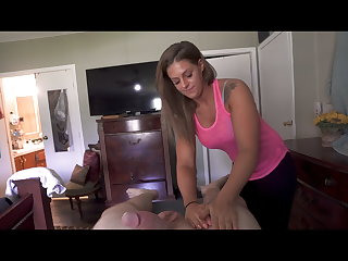 Rub-down From My Friends Hot Wife Part 1