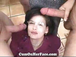 COHF Elaine Sales Son Gangbang - ANALDIN