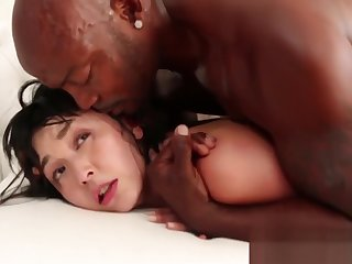 Asian Maid gets to clean a BBC!