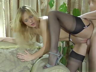 Incredible porn clip Blonde fantastic perpetually seen