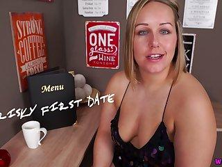 Chunky big breasted bawd Ashley Rider masturbates her meaty pussy on floor