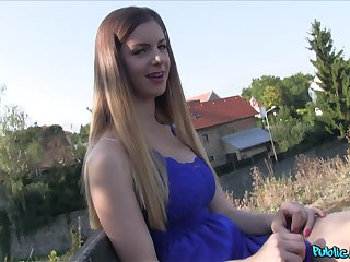 Stella Cox adores when horny dude cum on her gut after seem like sex