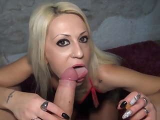 Very Myller-smokes together with receives 2 big internal cumshots