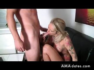 Big tits german amateur milf homemade