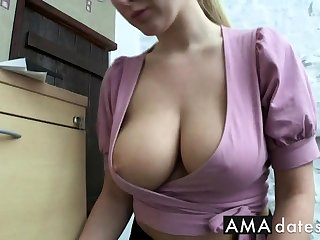 office wage-earner downblouse
