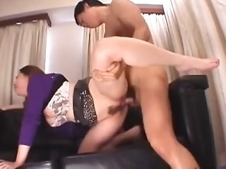 Japanese Floozie With linty fuckbox Gets Group-Smashed sexvideo