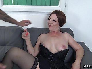 47 yo French MILF Veronique Porn Video