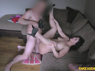 Amateur filmed during will not hear of first porn play as A a MILF