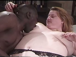 This BBW slut never keeps her home videos private and she loves black load of shit