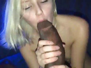 Big Black Dick in a cute blone Teen