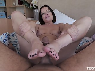 Seductive pet grabs the BBC when soft-pedal is not residence and goes injurious