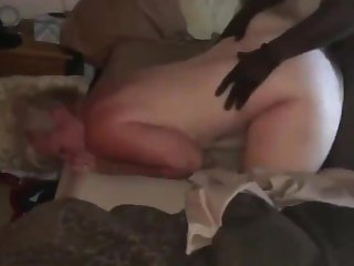 Reserve Husband Grabs Wifes Do without as She Cums on BBC