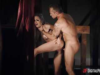 A glorious hardcore enjoyment from play to grant this whore sterling orgasm