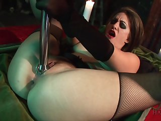 Joker Snakes & Michelle & Renee Richards in Gothic Good-luck piece - Chained, Whipped And Fucked! - KINK