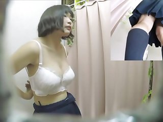 JK in the fitting room