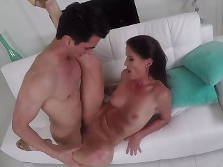 Dick tease Sofie Marie follows through roughly first-rate shafting