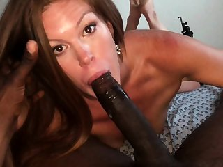 Eve Madison Booty POV Anal Blowjob