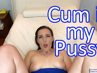 Clara Dee - Practicable Handjob and POV Fucking with Creampie