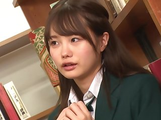 Ruka Inaba And Ichika Matsumoto - Groping And Pleasure In Put emphasize Sch**l Library