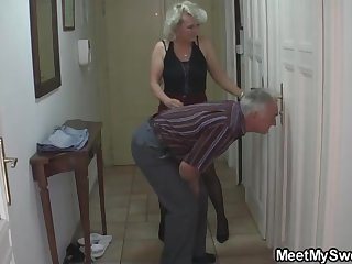 Mature blondie gal added to the brush kinky neighbors are constantly gathering up added to wrecking up like ultra-kinky